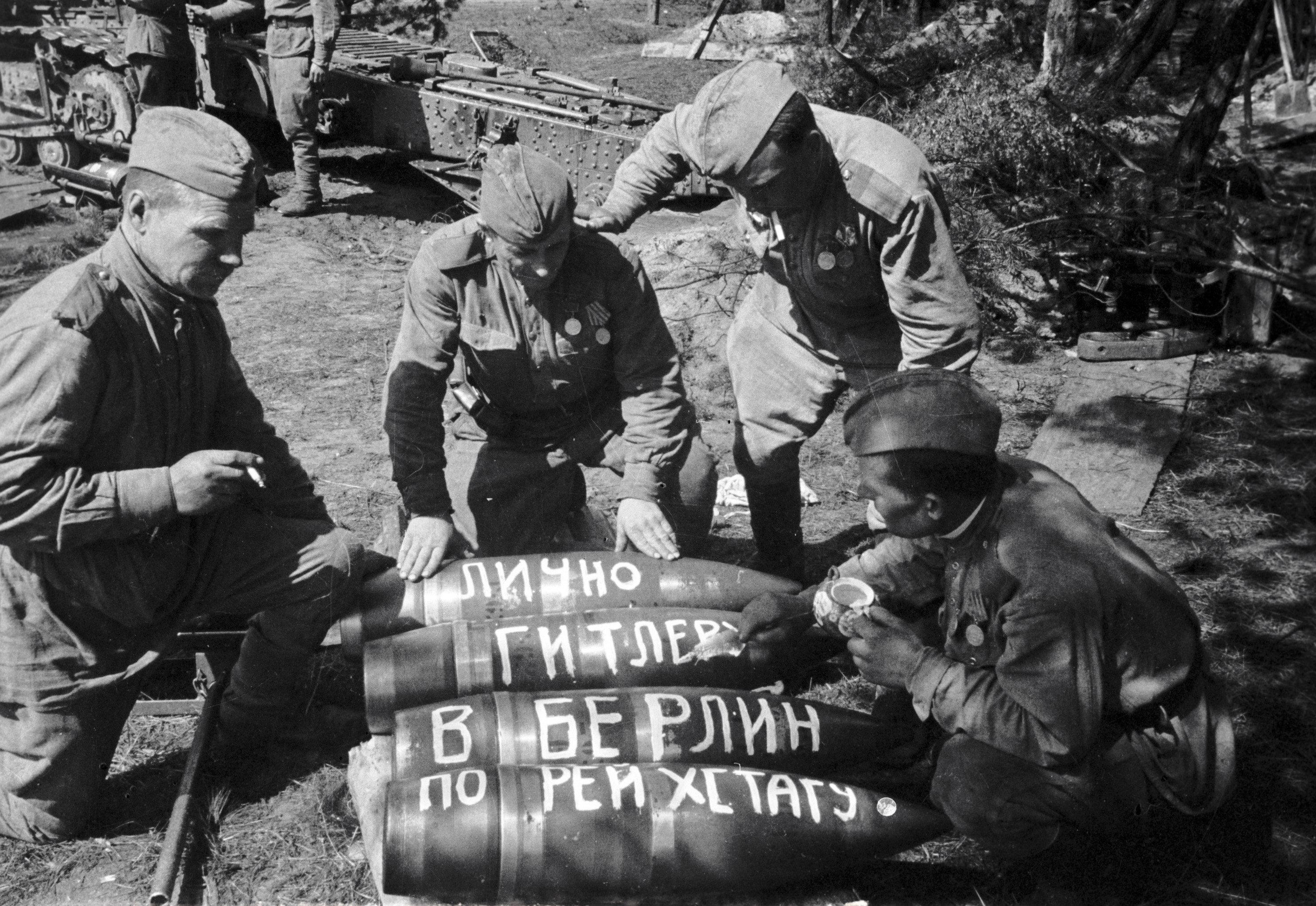 Messages aériens à Hitler