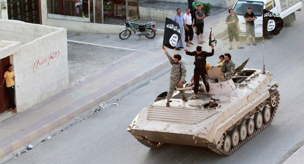 Djihadistes de Daech à Raqqa. Image d'illustration