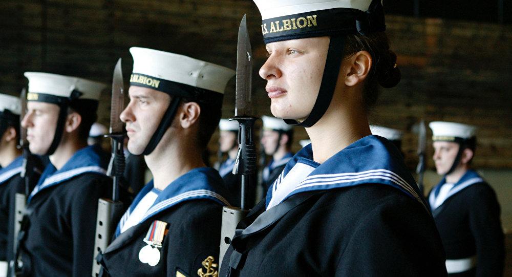 Le navire britannique HMS Albion (archives)