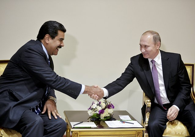 Vladimir Poutine et Nicolas Maduro (photo d'archives)