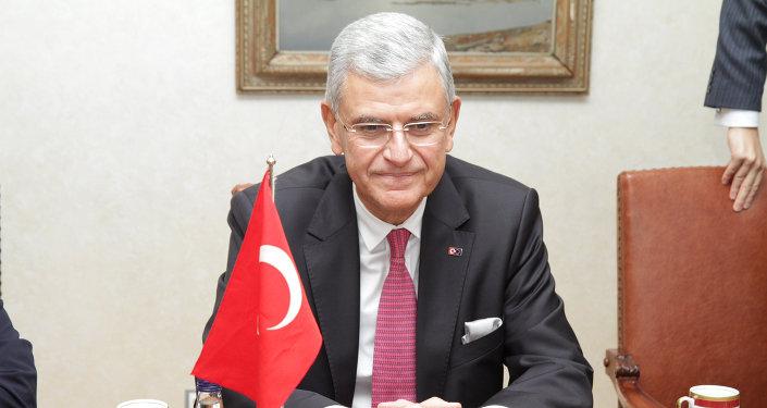 Le ministre turc des Affaires européennes Volkan Bozkir