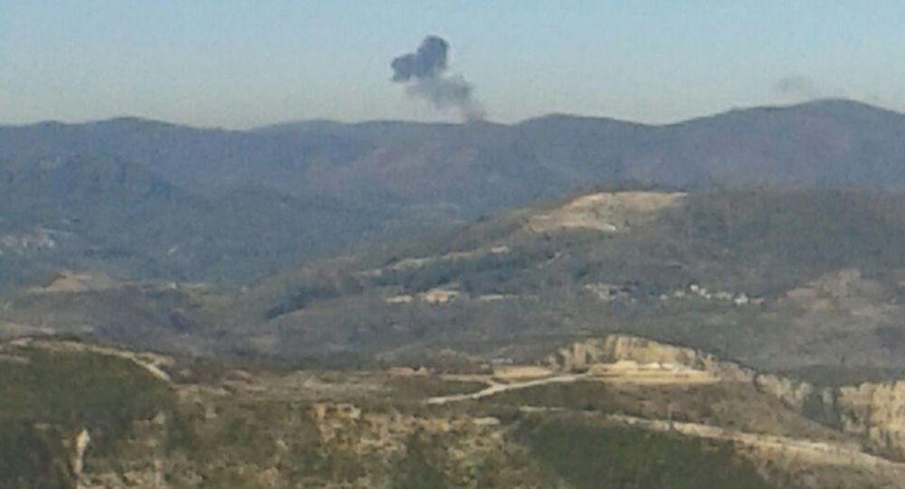 Crash du Su-24, abattu par l'aviation turque
