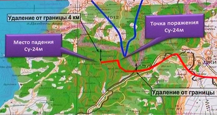 Russie: le ministère russe de la Défense dévoile le schéma de vol de l'avion Su-24