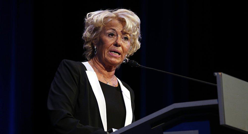 Marie-Christine Arnautu, vice-présidente du Front national (FN)