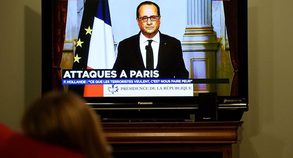 François Hollande s'adresse à la nation le 13 novembre 2015