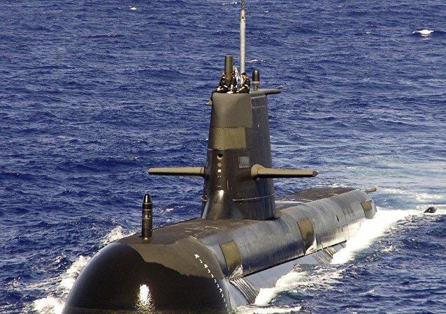 Australian submarine HMAS Rankin (Hull 6)