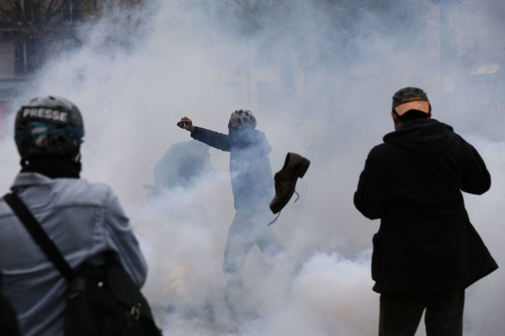 Une action scandaleuse pour l'écologie à Paris