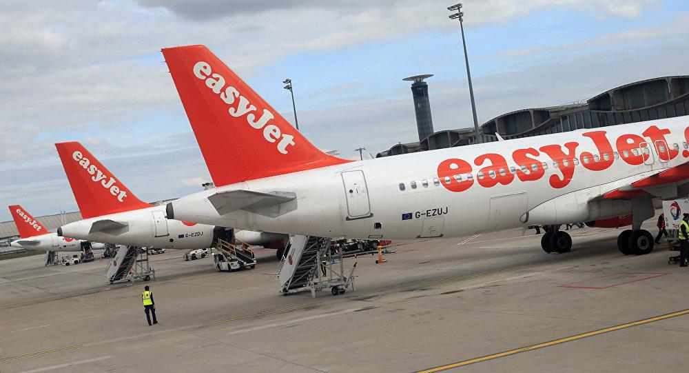 Airbus A 320 à Roissy en France