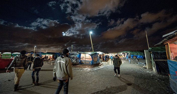 Camp de migrants jungle, Nov. 25, 2015, Calais, France.