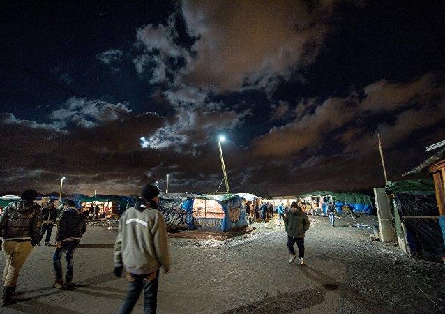 Camp de migrants jungle, Nov. 25, 2015, Calais, France.