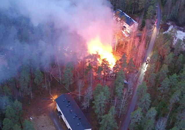 Finlande: un centre pour les réfugiés incendié