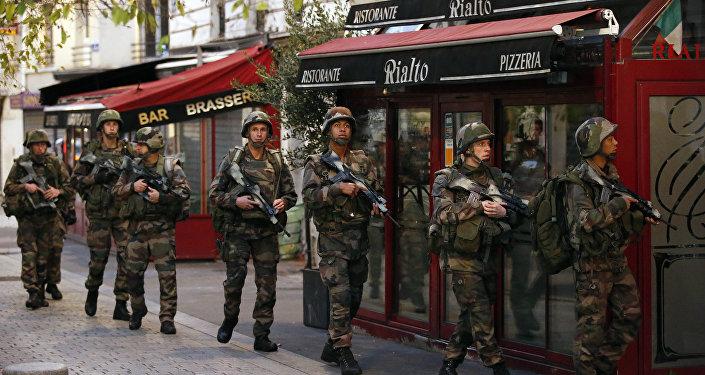 état d'urgence, Paris