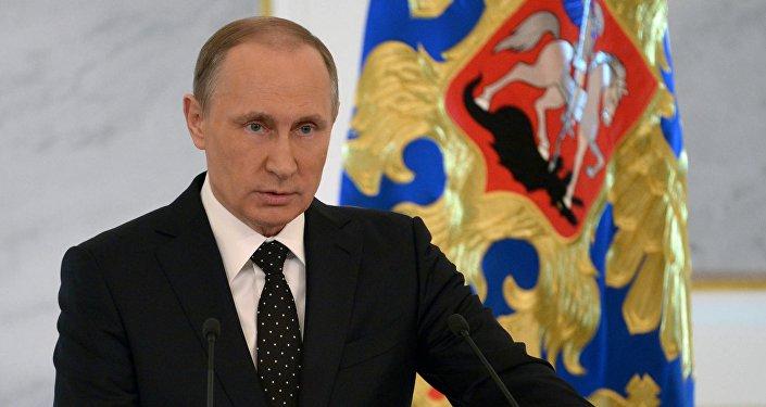 Le président russe Vladimir Poutine