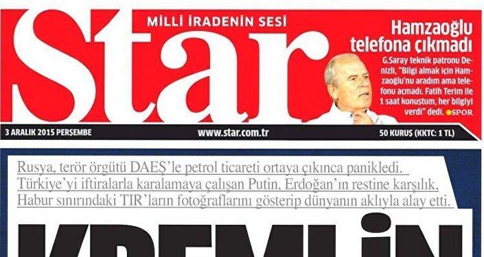 Journal turc Star