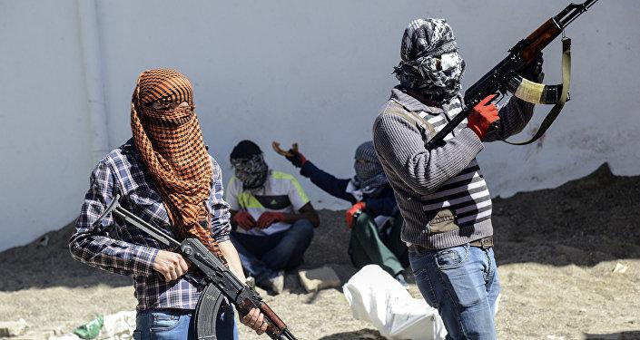 Militants du Parti des travailleurs du Kurdistan