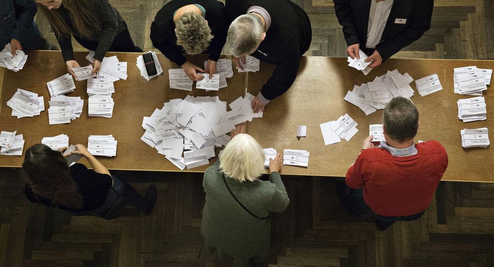 Référendum au Danemark.