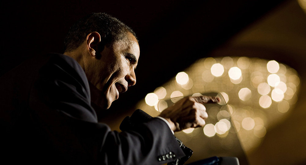 Le chef d'Etat américain Barack Obama