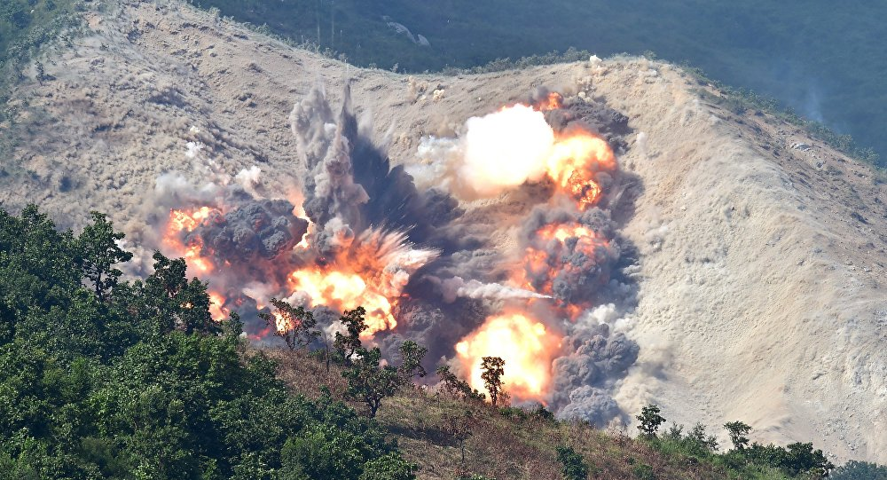L'explosion, l'image d'illustration
