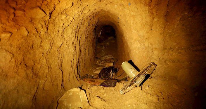 Le champ de bataille souterrain. Les tunnels de Daech à Sinjar