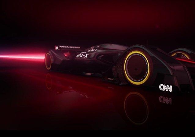 Le nouveau concept car MP4-X de McLaren Formule1