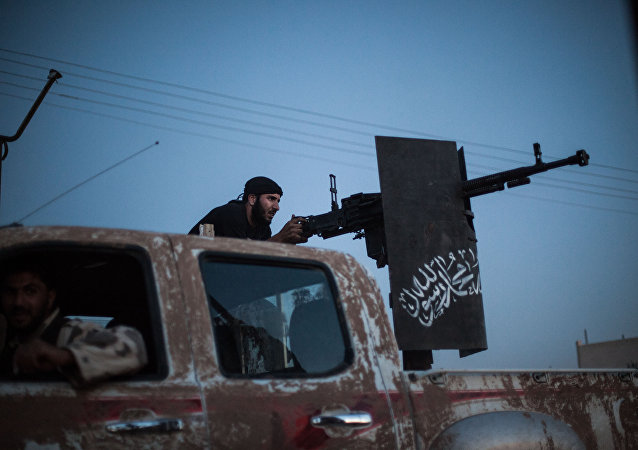 membre du groupe de l'opposition syrienne islamiste Ahrar al-Sham