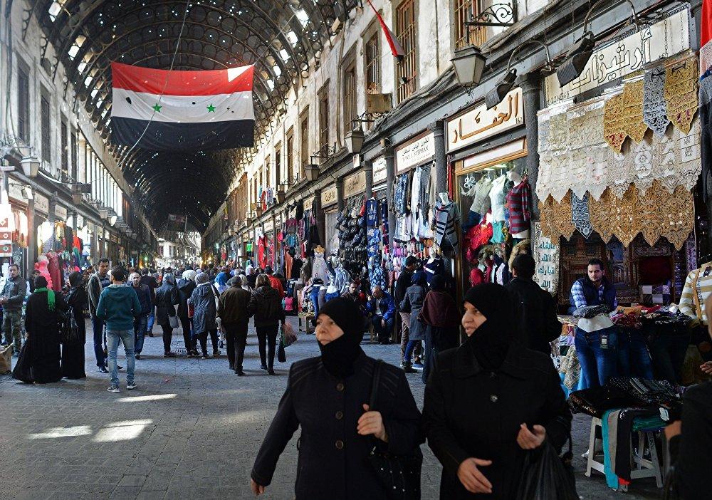 L'atmosphère du vieux Damas