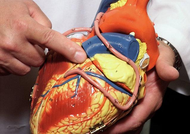 Un coeur en plastique