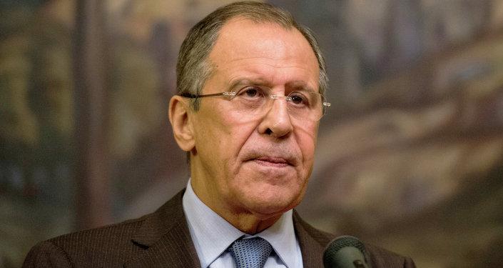 Le ministre russes des Affaires etrangères Sergueï Lavrov