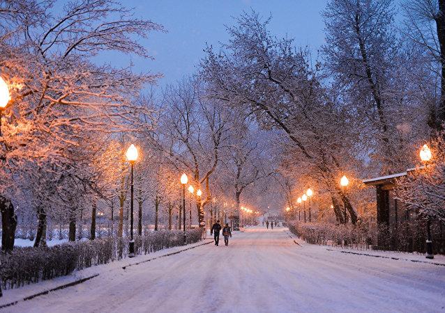 Un parc de Moscou