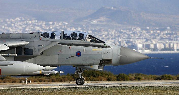 Un avion britannique