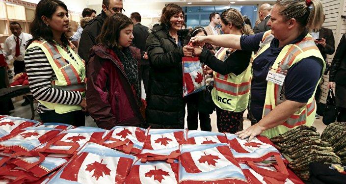 Arrivée de réfugiés syriens au Canada