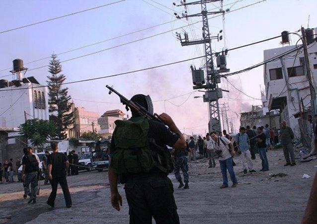 Affrontements à Gaza