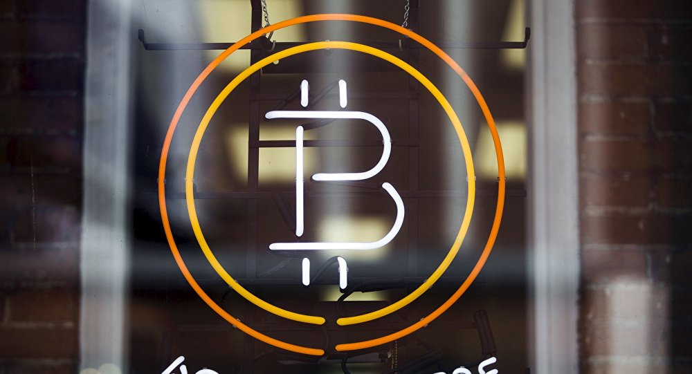 Un signe de Bitcoin