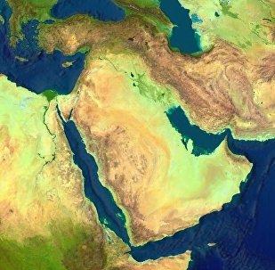 La carte du Proche-Orient