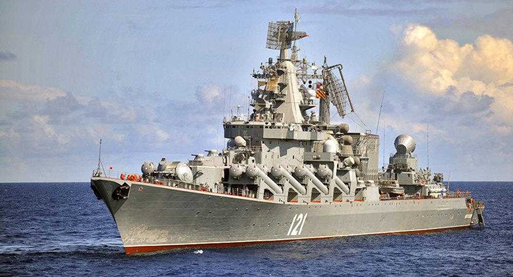 Le croiseur Moskva