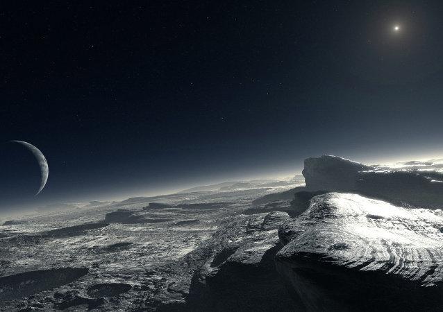 La surface de Pluton