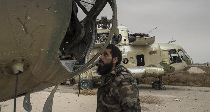 La base aérienne de Marj