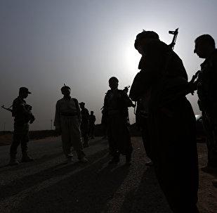 Les combattants kurdes qui luttent contre Daech en Irak
