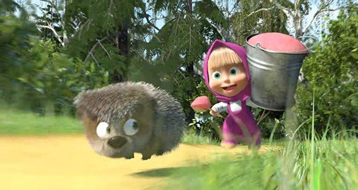 Le dessin animé russe Macha et l'Ours a été vue plus d'un milliard de fois