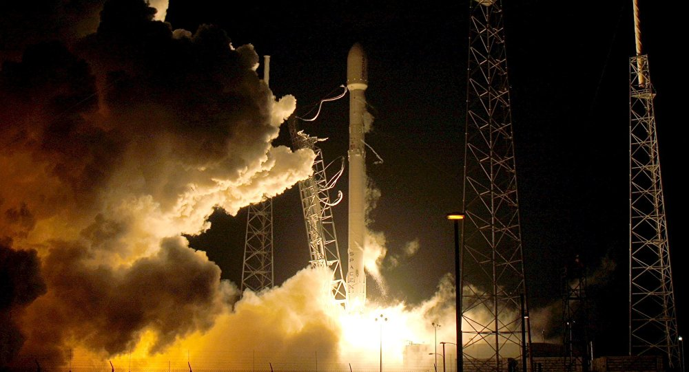 Un engin spatial lancé par SpaceX pour une mission secrète gouvernementale