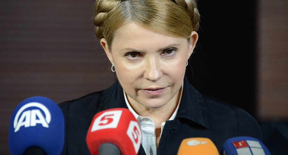 Comment des lobbyistes allemands vinrent au secours de Ioulia Timochenko