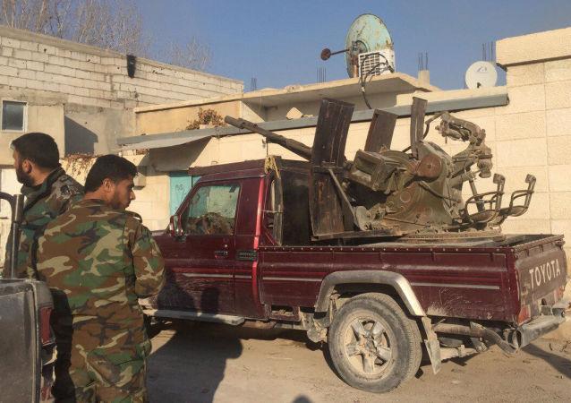 Opération spéciale de l'armée arabe syrienne à Damas