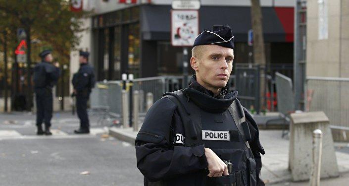 police, France