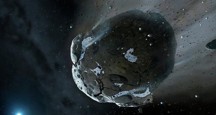 États-Unis vont fabriquer des pistolets à partir d'un fragment d'une météorite
