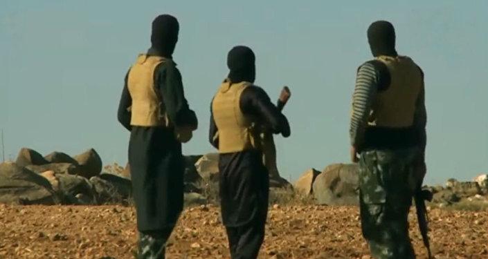 Des combattants de Daech en Afghanistan