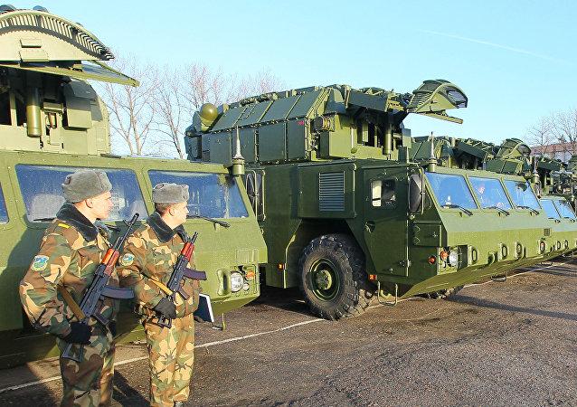 Systèmes Tor-M2 en service opérationnel en Biélorussie (archives)