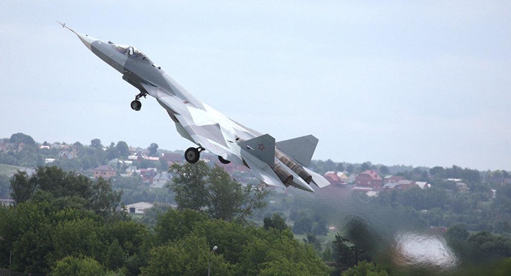 Chasseur de cinquième génération Sukhoi T-50 (PAK FA)