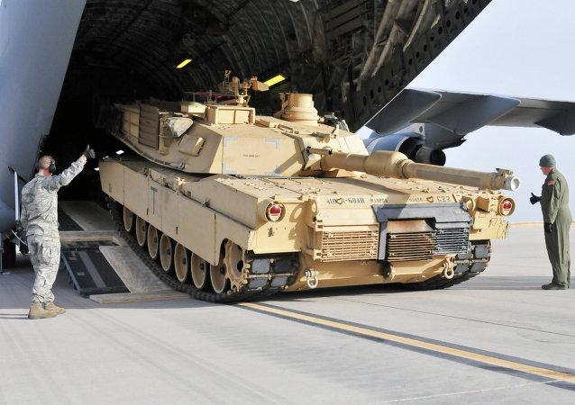 M1 Abrams américain