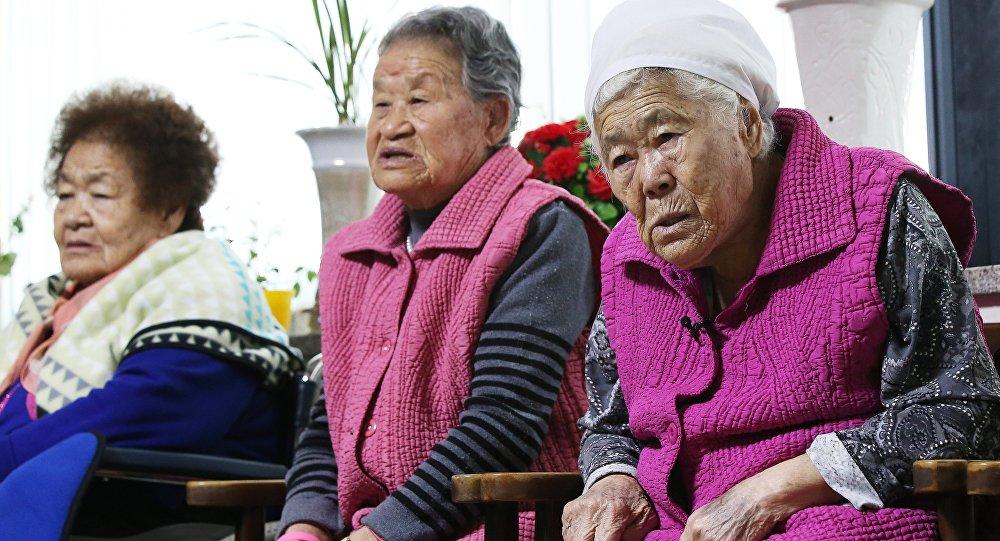 Femmes de réconfort survivantes, Déc. 28, 2015