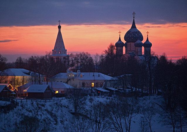 Villes de la Russie. Souzdal